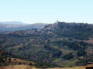 View of Ripacandida, Basilicata, Italy.JPG
