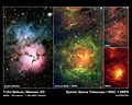 Views of the Trifid Nebula (Messier 20).jpg