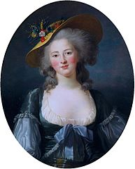 Portrait of Princess Elisabeth of France, Sister of Louis XVI