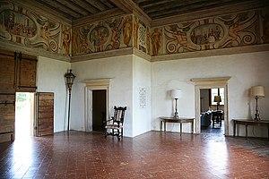 Villa Saraceno - The Sala.