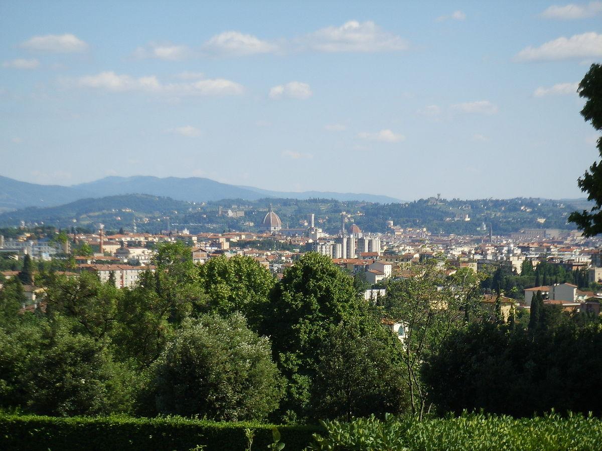 Villa la petraia wikimedia commons for Villa la petraia