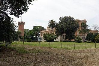 Villa Ada - Villa Savoia, now the Egyptian Embassy