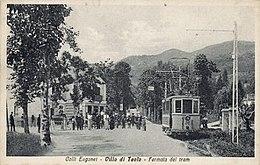 Padova tram percorso