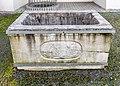 Villach Burgplatz 1 Villacher Burg Arkadenhof Brunnentrog 1832 Nord-Ansicht 10052017 8409.jpg