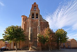 Villafáfila, Iglesia de Santa María, fachada posterior, norte.jpg