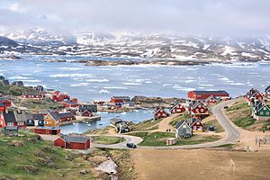 Village of Tasiilaq; View from Hotel Angmagsallik (5563135178).jpg