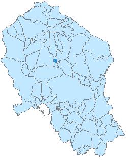 Villaharta-mapa