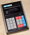 Vintage APF Electronic Pocket Calculator, Model Mark VI, Made In Japan, Circa 1973 (13993671060).jpg