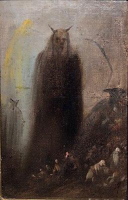 Visión fantasmal por Francisco de Goya