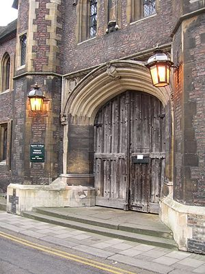 Queens' College, Cambridge - Queens' Great Gate