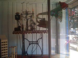 """Rowland Emett - Visivision Machine, one of the """"Things"""" created by Rowland Emett"""