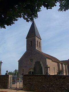 Part of La Vineuse sur Fregande in Bourgogne-Franche-Comté, France