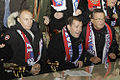 Vladimir Putin, Dmitry Medvedev and Viktor Zubkov in 2009.jpg