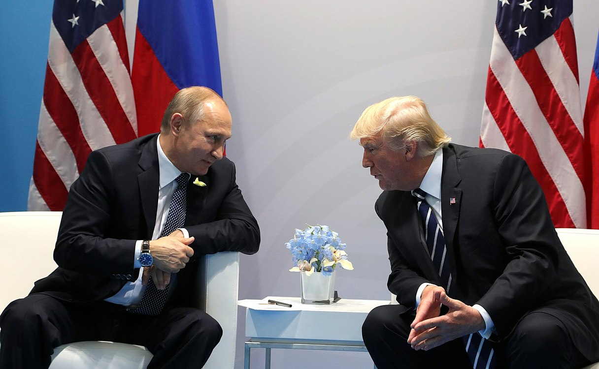 Vladimir Putin and Donald Trump at the 2017 G-20 Hamburg Summit (3).jpg
