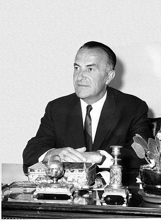 President of the League of Communists of Croatia - Vlado Popović