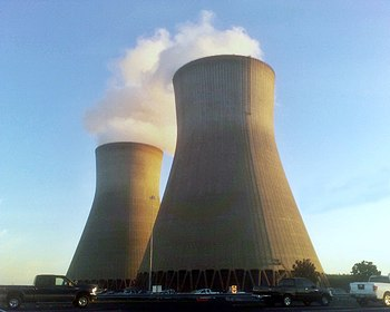 English: Vogtle nuclear power station Cooling ...