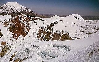 Sabancaya Peruvian stratovolcano