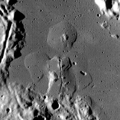 Volcanoes in Lacus Veris (30x30km) 2
