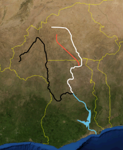 Volta river black white red.PNG