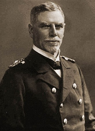 SMS Scharnhorst - Vizeadmiral Maximilian von Spee, who would command Scharnhorst during World War I