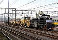 Vossloh G1206 nr 1554 van RTS met divers Kölngleis-werkmateriaal, Amersfoort (15350269038).jpg