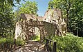 Vstupní brána hradu Bolczow.JPG