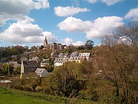 A general view of Lannion