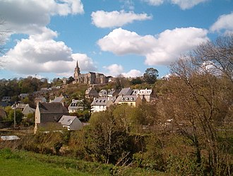 Lannion - A general view of Lannion