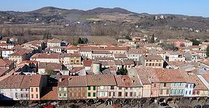 Mirepoix, Ariège - A general view of Mirepoix