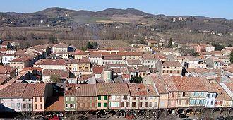 Mirepoix, Ariège - A general view of Mirepoix