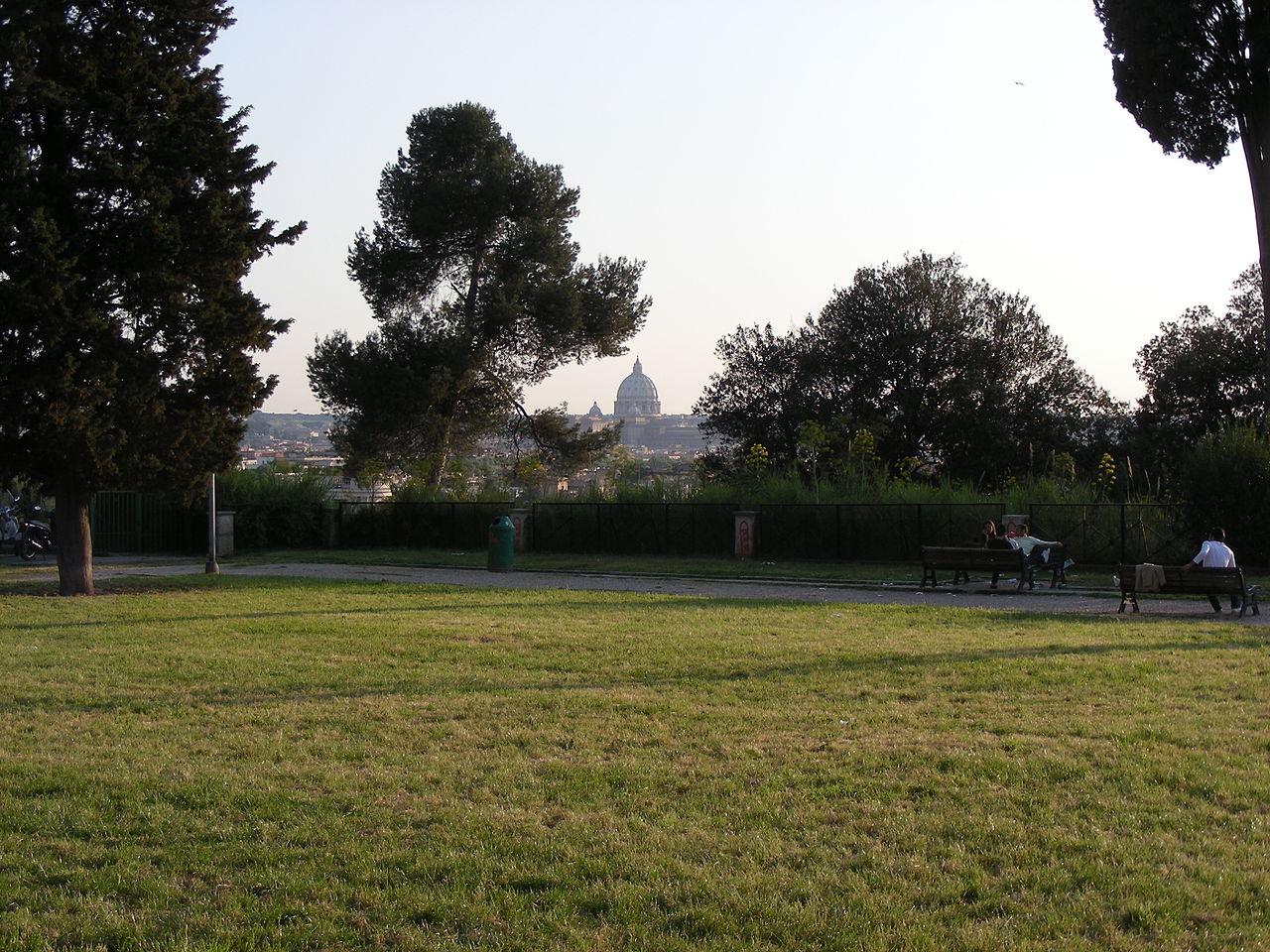 Fichier vue sur rome depuis le jardin de la villa balestra wikip dia - Par vue de jardin ...