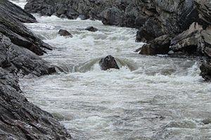 Vuoksi River - The Vuoksi river near Imatra