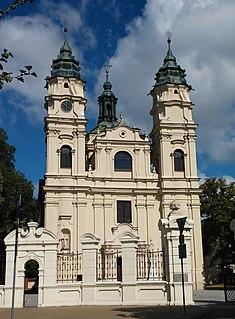 Włodawa Place in Lublin Voivodeship, Poland