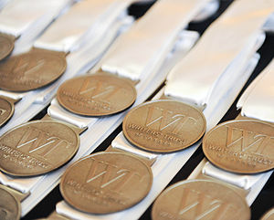 Writers' Trust of Canada - Writers' Trust Medals, given to invited authors at 2011's Gala