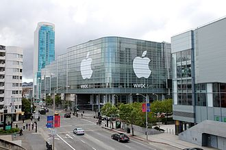 Moscone Center - Moscone West during the 2011 Apple Worldwide Developers Conference
