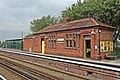Waiting Room and Cycle Storage, Hall Road Railway Station (geograph 2994478).jpg
