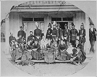 Walla Walla, Washington - Fort Walla Walla - 1874