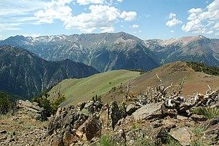 Sacajawea Peak mountain in United States of America