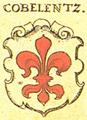 Wappen Cobelentz 1605 Siebmacher221.png