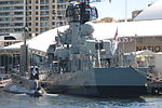 War ship at Maritime Museum, Darling Harbour.JPG