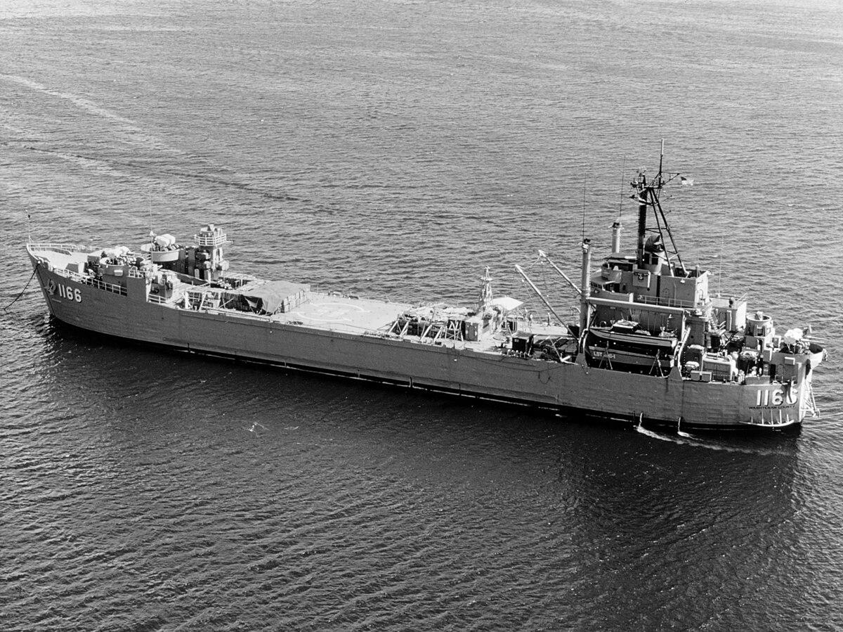 Full Force Diesel >> USS Washtenaw County (LST-1166) - Wikipedia