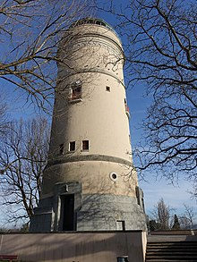 The water tower on the Bruderholz has an accessible 360 degree viewing platform