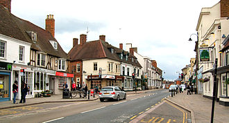 Towcester - Watling Street, looking north