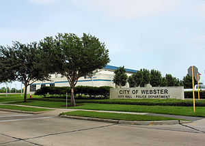 City Hall and Police Station - Webster, Texas, USA