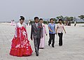 Wedding Party Wonsan, DPRK (16139796425).jpg