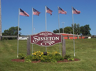 Sisseton, South Dakota - Image: Welcometosisseton