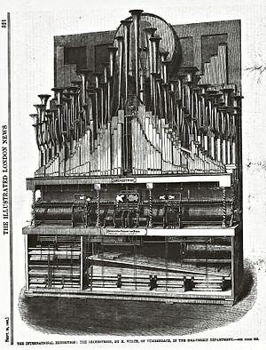 Orchestrion - Image: Welteorchestrion 1862