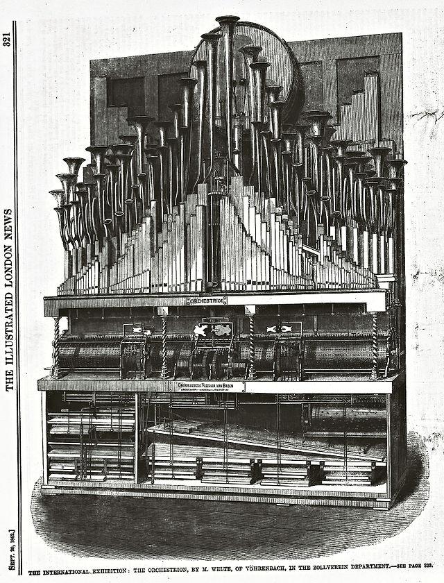 Orchestrion princip