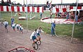 Wenatchee Youth Circus in late 1980's Unicycling.jpg