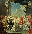 Wenzel Pohl - Cesarzowa Maria Teresa z mężem i dziećmi.jpg